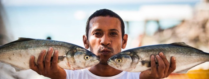 Reportagem com os pescadores da Colônia Z13